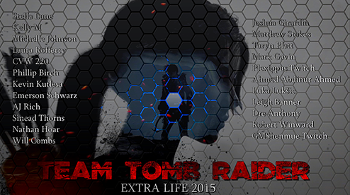 Tomb Raider Community Extra Life Team