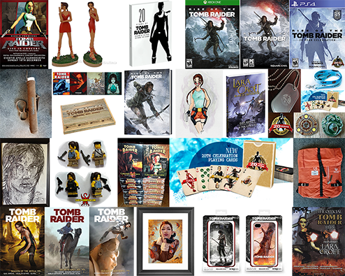 Tomb Raider Raffle Prizes