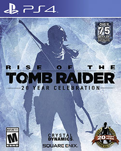 Rise of the Tomb Raider 20 Year Celebration Box