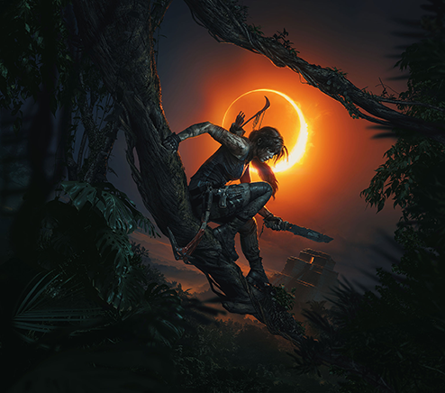 Shadow of the Tomb Raider key art