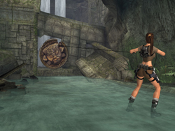 Lara using Grapple