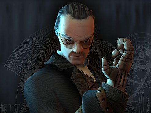 Tomb Raider: Angel of Darkness villain Pieter Van Eckhardt