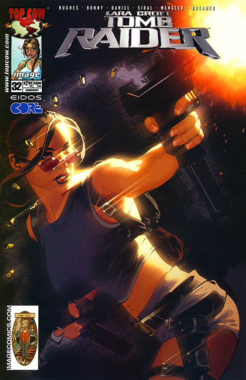Tomb Raider: Angel of Darkness comic from Top Cow/Image Comics