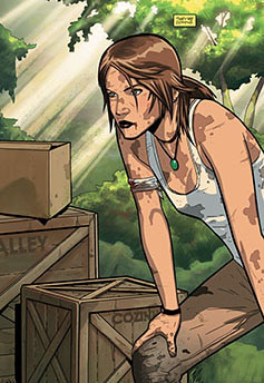 Tomb Raider #1 from Dark Horse Comics