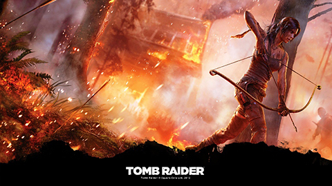 Tomb Raider Day One Poster