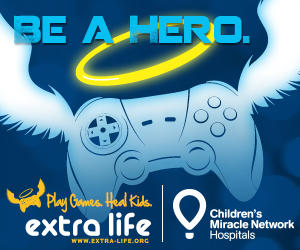 Extra Life 2012. Play Games. Heal Kids.