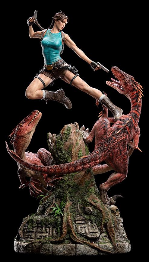 Lara Croft Lost Valley limited edition statue by Weta Workshop