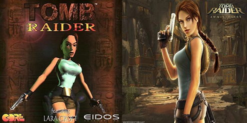 Tomb Raider and Tomb Raider: Anniversary