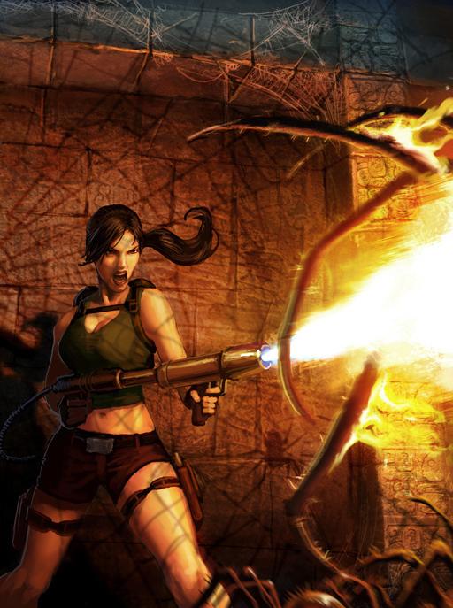 这里有一个球迷的阳光射线古墓丽影:一个新游戏, Tomb Raider fans: a new game