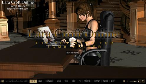 Lara Croft Online