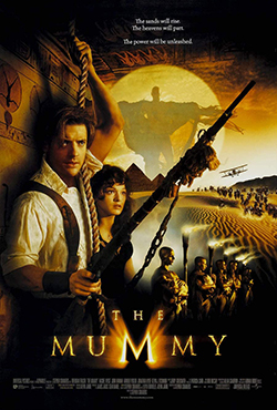 Movie poster - The Mummy 1999