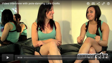Tomb Raider pole performers Emy and Bex talk to GamesRadar