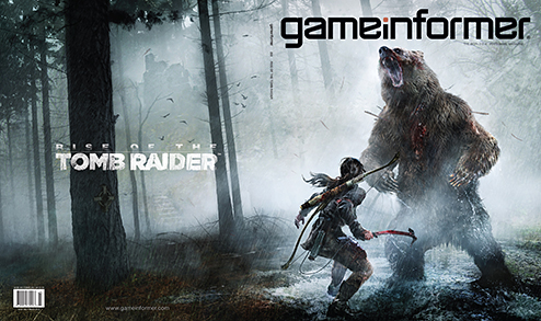 Rise of the Tomb Raider featured in Game Informer's March 2015 issue
