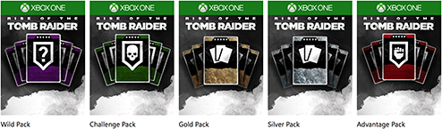 Rise of the Tomb Raider Expedition Cards