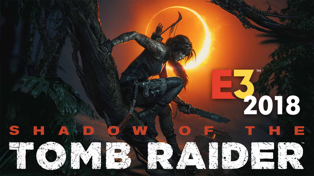 Shadow of the Tomb Raider key art with logo