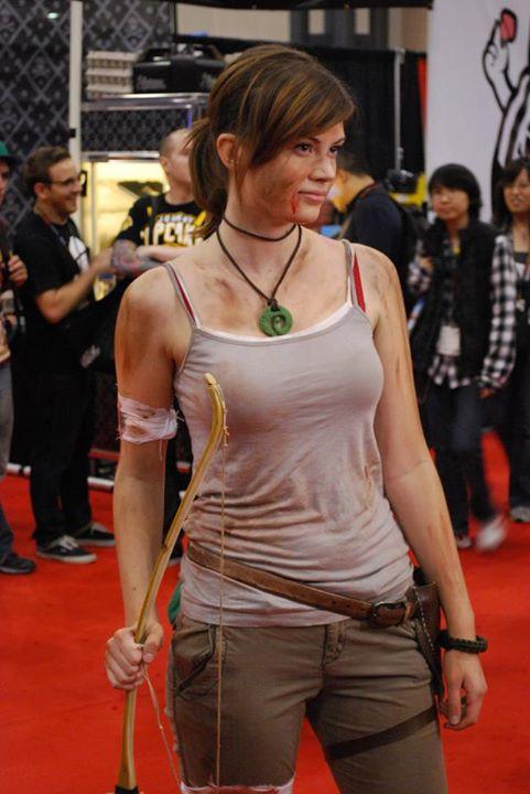 lara croft survivor cosplay by ladysnip3r