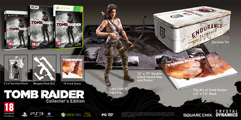 Tomb Raider European Collector's Edition