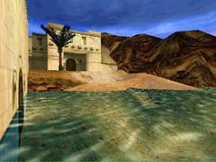 The Coastal Ruins level in Tomb Raider 4