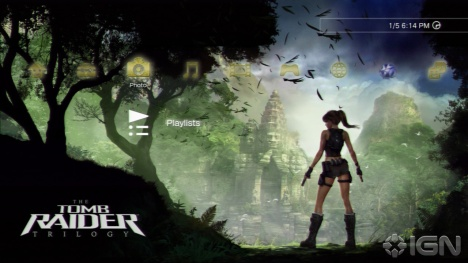 PS3 Tomb Raider Theme