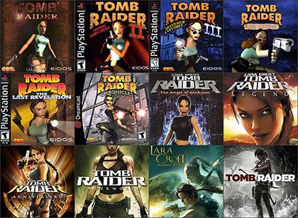Tomb Raider games. List of all Tomb Raider video games.