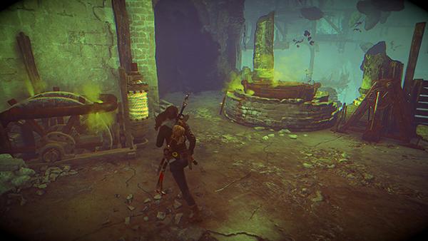 Rise Of The Tomb Raider Baba Yaga Dlc Boss Fight Part 1