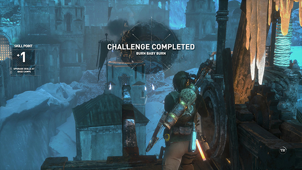 Rise Of The Tomb Raider The Lost City Firing The Second
