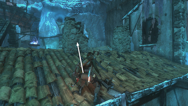 tomb rider how to change into explosive arrows