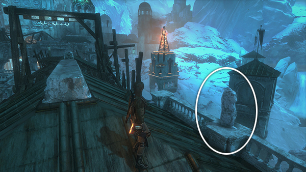 Rise Of The Tomb Raider The Lost City From The Third