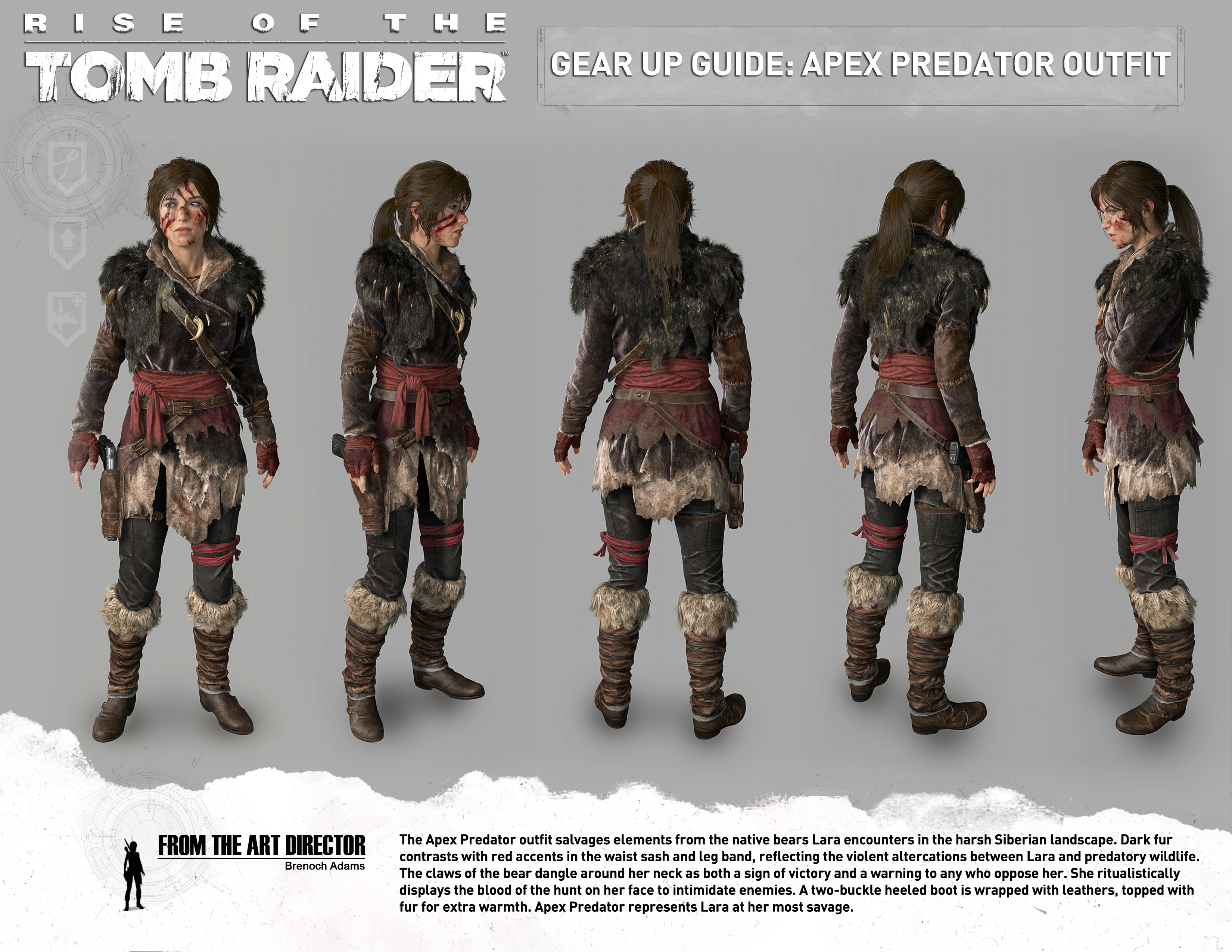 Guide To All Outfits Rise Of The Tomb Raider