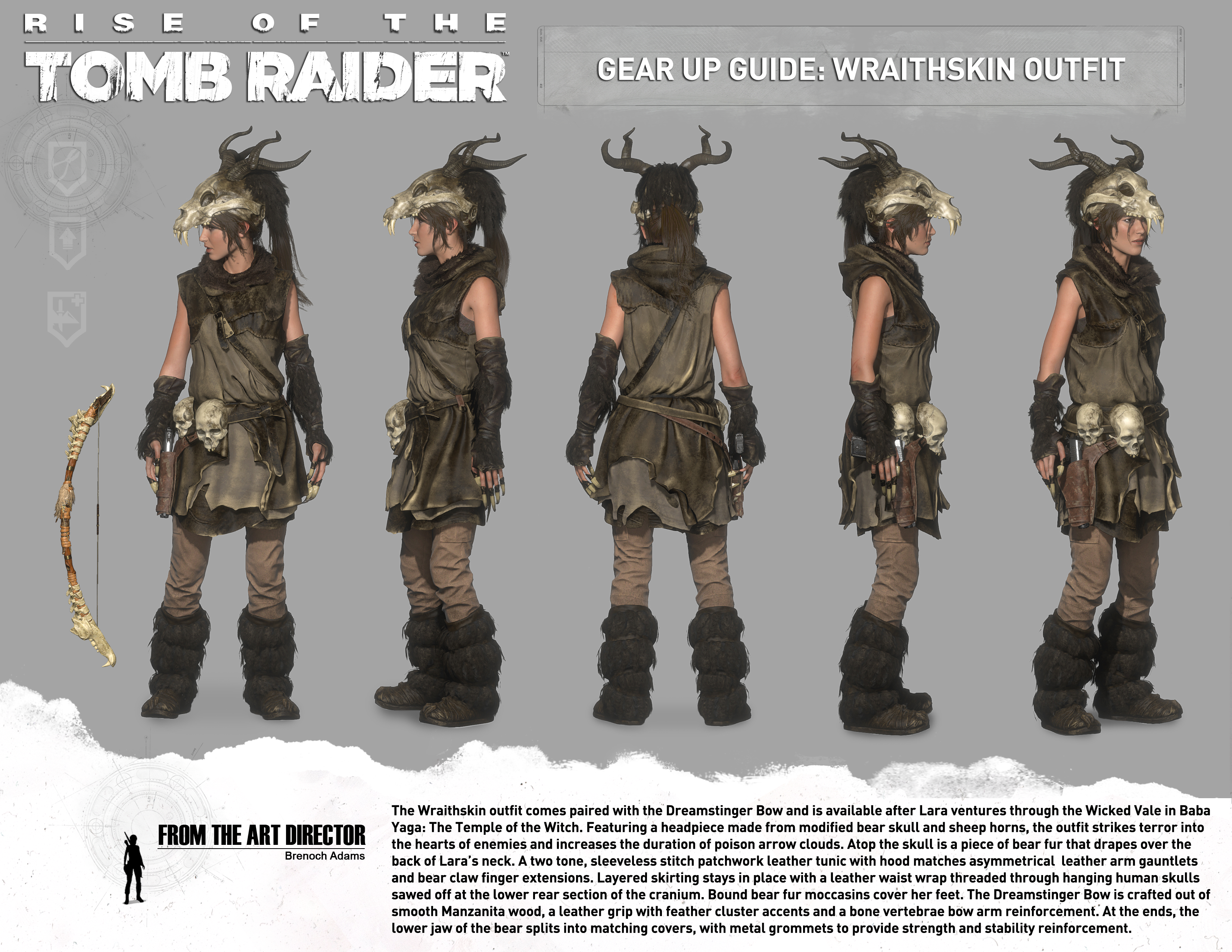 (Gear Up Guide) & Guide to All Outfits - Rise of the Tomb Raider