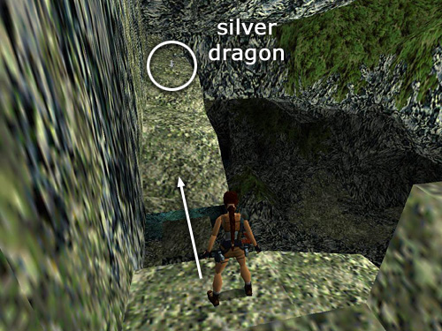 Tomb Raider 2 Walkthrough The Great Wall Climbing Onto The Wall
