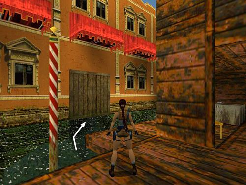 Level 2 Venice Tomb Raider 2 Walkthrough