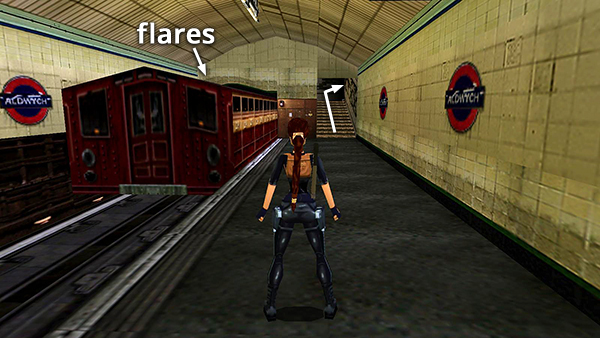 Tomb Raider 3 Aldwych From The Turnstile Room To The