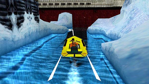 Resultado de imagem para tomb raider 3 vehicle boat antarctica