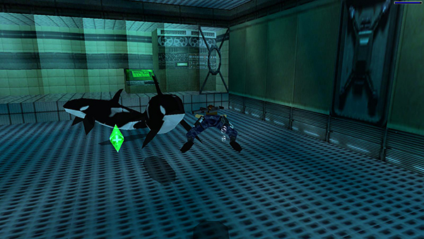 Tomb Raider 3 Area 51 Saucer Room And Orca Tank Secret 3