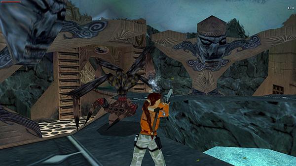 Resultado de imagem para tomb raider 3 desert eagle