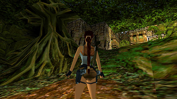tomb raider 3 jungle boulder trap and switch inside hollow tree. Black Bedroom Furniture Sets. Home Design Ideas