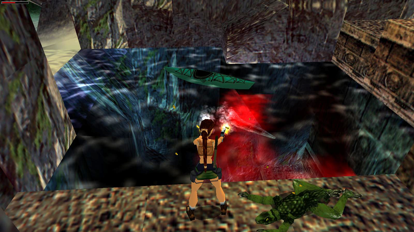 Tomb Raider 3 Madubu Gorge Caves And Rapids Part 3