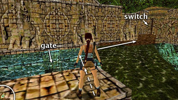 Tomb Raider 3 Temple Ruins Crossing The Piranha