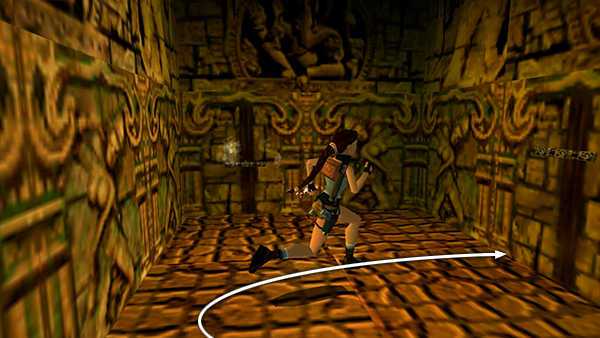 Tomb Raider 3 Spike Room With Fourth Ganesha Key
