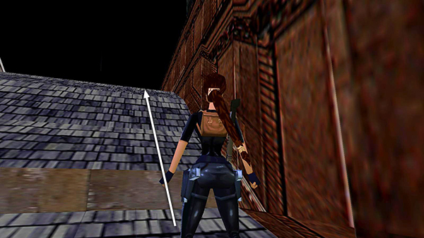 Tomb Raider 3 Thames Wharf Cathedral Roof Bell Tower