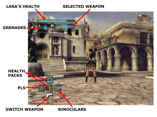 Tomb Raider Legend Hud Heads Up Display Stella S Tomb