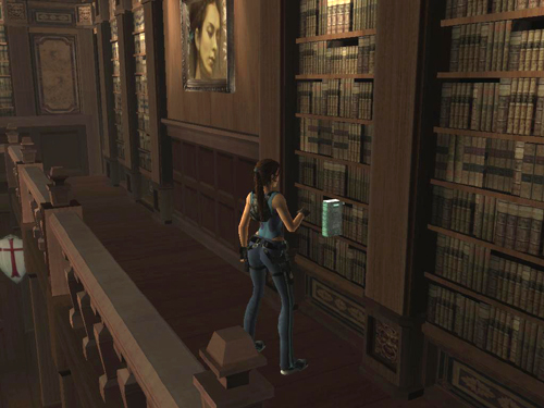 Tomb Raider Legend Walkthrough Croft Manor Library