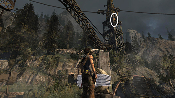 Tomb Raider Cliffside Bunker Finishing Up Inside And