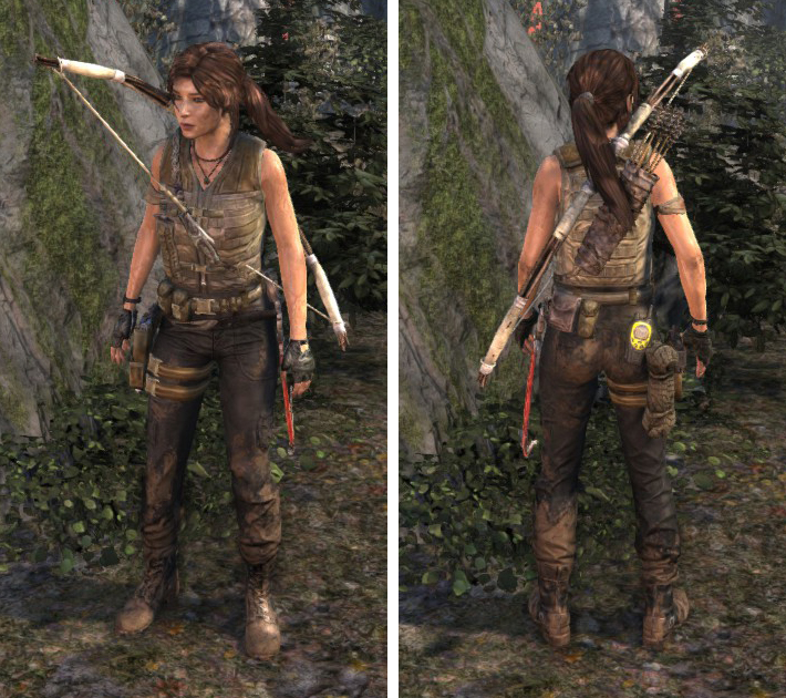 Tomb Raider 2013 Outfits And Other Downloadable Content Dlc