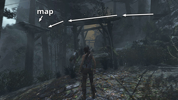 Tomb Raider Coastal Forest Treasure Map TOMB RAIDER 2013 Quick Guide to All Treasure Maps   Stella's Tomb  Tomb Raider Coastal Forest Treasure Map